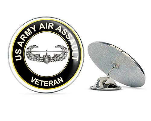 (U.S. Army Air Assault Veteran Metal 0.75