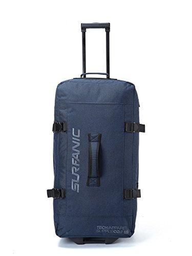 Surfanic Roller Bag–Travel Tasche, Split Roller Bag, Rollen, leicht, Haltegriff (Marineblau)