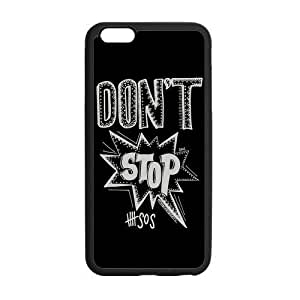 """AMAF ? Accessories Custom Design 5 Seconds of Summer 5sos Durable Protection Plastic Snap On Cover Case for iPhone 6 Plus (5.5"""") (5.5') [ 5 sos ]"""