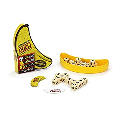 Bananagrams Duel: Ultimate 2 Player Travel Game | Small Space Word Race: Toys & Games