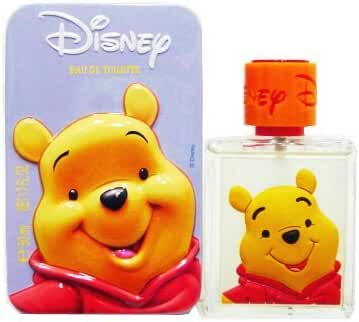 Winnie The Pooh Eau De Toilette Spray 1.7 oz in Metallic Box for Kids by Disney