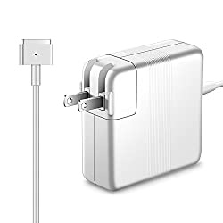 MacBook Air Charger, Ucero Ac 45W Magsafe2 ( T-Tip ) Connector Power Adapter Charger for Air 11-inch and 13 inch ( For Air Released after Mid 2012 )