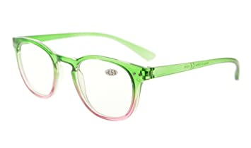 be6b0b3df658 Amazon.com  Eyekepper Fashion Readers Womens Reading Glasses (Green ...