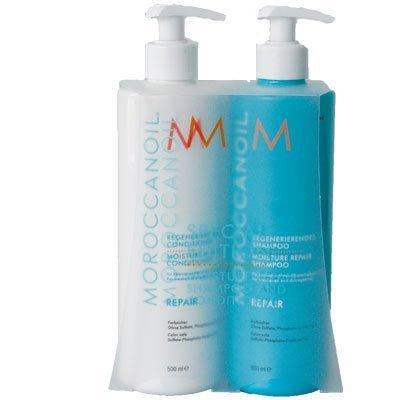 Moroccanoil Moisture Repair Shampoo & Conditioner im Set (2x 500ml Special Edition)