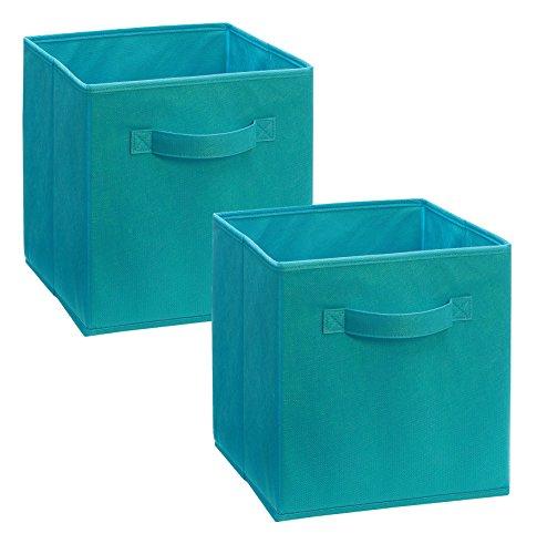 ClosetMaid 11530 Cubeicals Fabric Drawer, Ocean Blue, ()