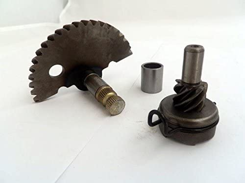 7 spline gear Yunshuo Kick Start Shaft Gear for 50cc QMB139 Starter Motor Chinese Scooter Parts GY6