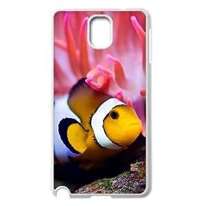 Diy Clown Fish Phone Case for samsung galaxy note 3 White Shell Phone JFLIFE(TM) [Pattern-2]