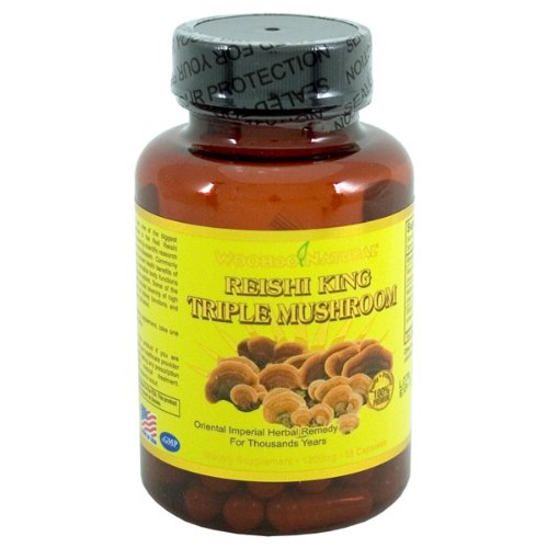 - Woohoo Natural Reishi King Triple Mushroom 60 Capsules