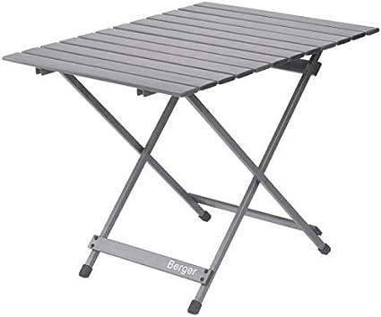Berger Camping Klapptisch Aluminium 50x50cm Gartentisch Tisch Falttisch Esstisch Balkon Terrasse Alu Amazon De Sport Freizeit