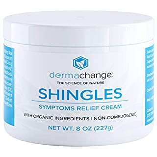 Natural Shingles Treatment and Relief Cream - with Manuka Honey - Shingle Nerve Pain Ointment - Natural Moisturizer for Face and Body - Stops Shingle Breakouts, Burning, Scar and Itchy Dry Skin (8oz)