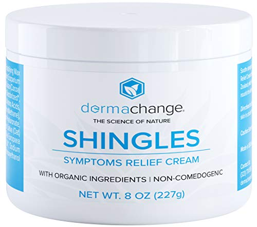 Natural Shingles Treatment and Relief Cream - with Manuka Honey - Shingle Nerve Pain Ointment - Natural Moisturizer for Face and Body - Stops Shingle Breakouts, Burning, Scar, Itchy Dry Skin (8oz)