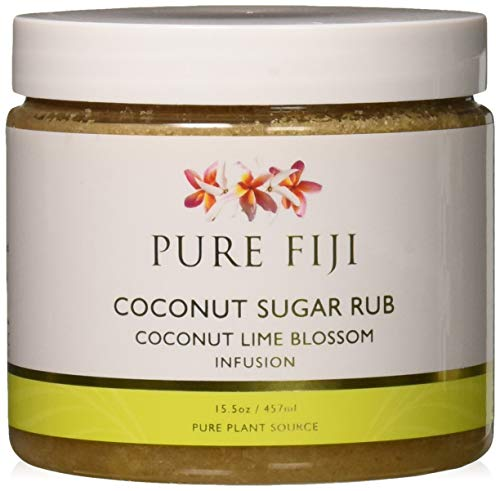 (Pure Fiji Sugar Rub, Coconut Lime Blossom, 15.5 Ounce)