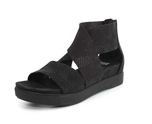 Eileen Fisher Kvinna Sport Tre Sneaker Sandal Svart Nubuck