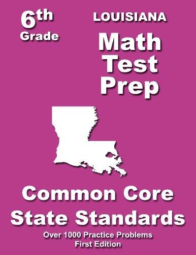 Louisiana 6th Grade Math Test Prep: Common Core Learning Standards pdf