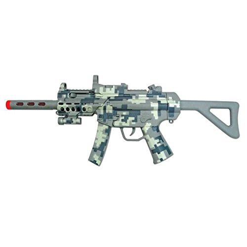 Playmind–75184–Machine Gun, Camouflage