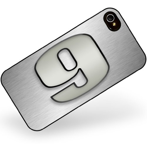 iphone 4 4s 9 number as apple gray - Neonblond