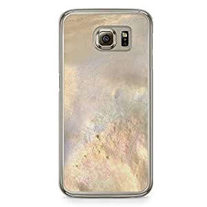 Samsung Galaxy S6 Transparent Edge Phone Case Elegant Texture Phonce Case Gold Marble Phone Case Dark Phone Case Black Gold Samsung S6 Cover with Transparent Frame