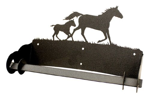 Mare & Foal Horse Paper Towel Holder by Innovative Fabricators, Inc.