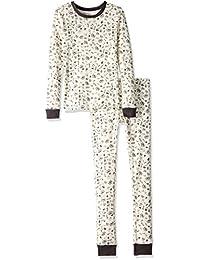 Unisex Pajamas, 2-Piece PJ Set, 100% Organic Cotton (12...