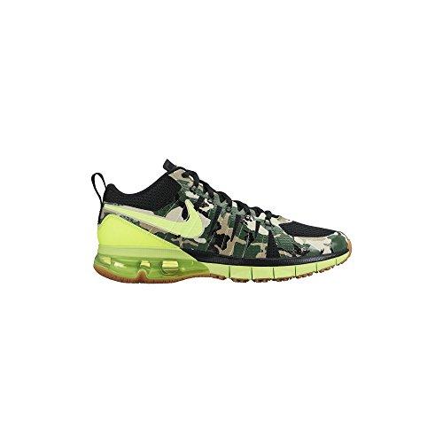 Men's Nike Air Max TR180 Amp Training Shoe Black/Gum Med Brown//Volt Size 13 M US