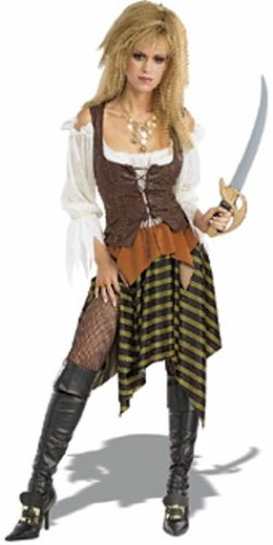 Rubie's Costume Pirates of The Seven Seas Pirate Wench - Adult Standard Costume