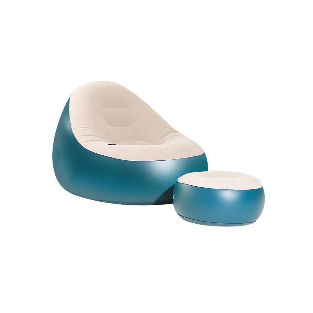 MAGO Tragbares aufblasbares Sofa, Outdoor Air Sofa Camping, Park, Hinterhof