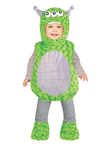 Fun World 115901L Li'l Alien Toddler Costume, Large, -