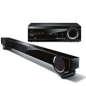 Yamaha yht s401bl front surround home theater for Yamaha ats 1030 soundbar review