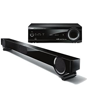 Yamaha yht s401bl front surround home theater for Yamaha 7 2 home theatre system