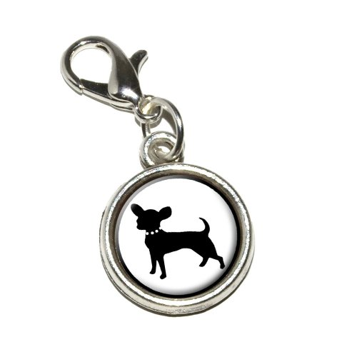 Graphics More Chihuahua Antiqued Bracelet