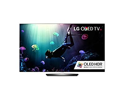 LG Electronics OLED55B6P Flat 55-Inch 4K Ultra HD Smart OLED TV (2016 Model) (Certified Refurbished)