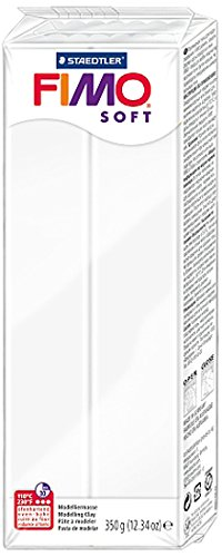 Staedtler 12.34 oz White Fimo Soft Polymer Clay, Multicolor