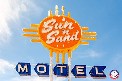Route 66: Sun 'n Sand Motel - Artisan Jigsaw Puzzle