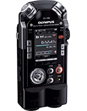 Olympus LS-100 Portable Audio Recorder, Black (LS-100)