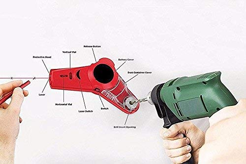 Drill Buddy-Drill Dust Collector Laser Level PlatiniumTech