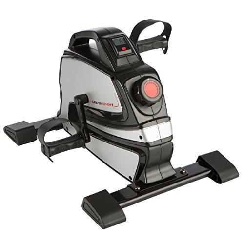 Ultrasport MB-5 Minibicicleta doméstica, ejercitador de Brazos y piernas para Todas Las Edades con Consola, Resistencia…
