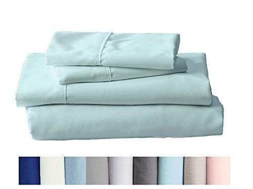 (Home Fashion Designs Claudette Collection Egyptian Quality Double Brushed Microfiber Sheet Set. Hypoallergenic, Wrinkle & Fade Resistant Hotel Luxury Bed Sheets Brand. (King, Aqua Marine))