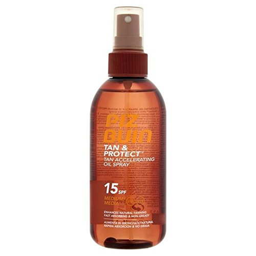 Piz Buin Tan & Protect Tan Intensifying Spray SPF 15 150ml (PACK OF 4) by Piz Buin (Image #1)