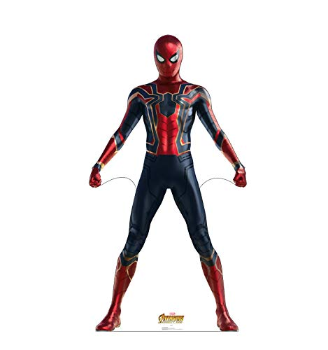 Advanced Graphics Spider-Man Life Size Cardboard Cutout Standup - Marvel's Avengers: Infinity War (2018 Film) -