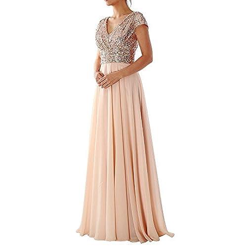 Rose Gold Dress Bridesmaid: Amazon.com