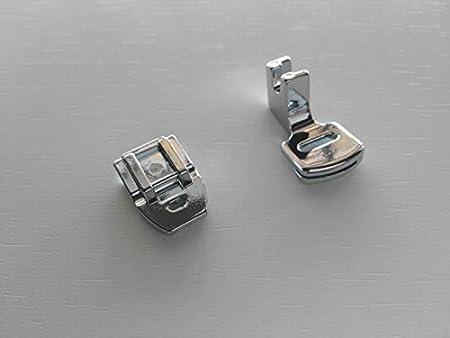 PATILLA PARA FRUNZIR + PATILLA DE CREMALLERAS INVISIBLES compatibles con máquinas de coser actuales: Amazon.es: Hogar