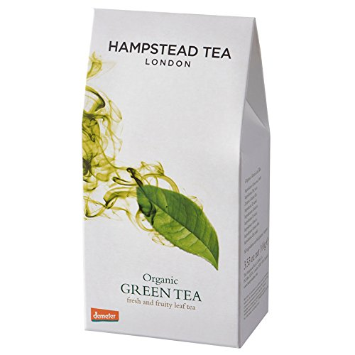 Biodynamic Tea - Hampstead Tea Organic Biodynamic Loose Leaf Tea Green 3 53 oz 100 g