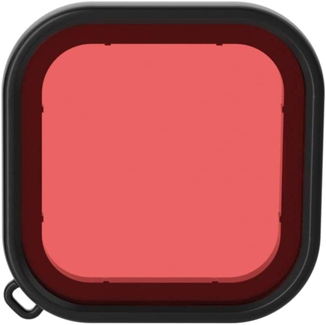 Color : Red Square Housing Diving Color Lens Filter for GoPro HERO8 Black Durable