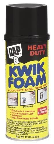 Dap Dap 558.664 Kwik espuma de poliuretano aislante de espuma sellante 12 Oz