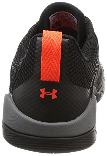 Under Armour Charged Legend TR Stripe Hombre Zapato de Baloncesto, negro, 40.5