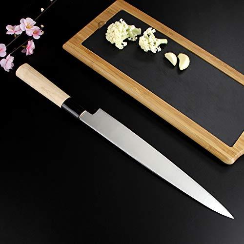 BIGSUNNY Sashimi Sushi Knife 12 Inch Long Blade by MSY BIGSUNNY (Image #2)