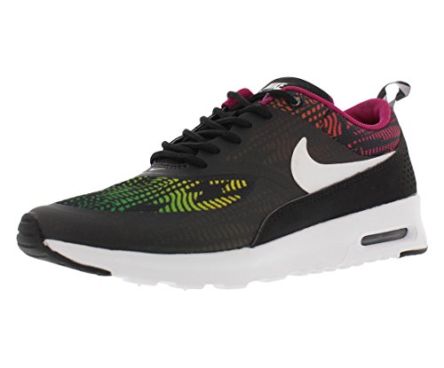 Nike Air Max Thea Print Women's Running Shoes Size US 5, Regular Width, Color Black/Multicolor