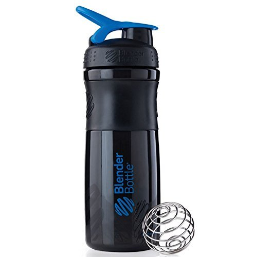 Blender Bottle Sport Mixer Protein Shaker Cup 28 oz BlenderBottle Sport - Black/Blue (Blender Bottle Sport Mixer Aqua compare prices)