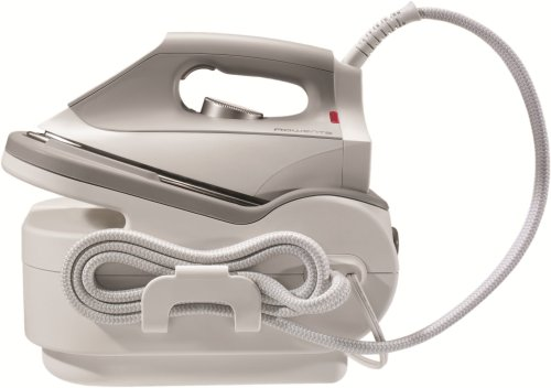 Rowenta DG5030 Pro Iron Steam Iron Station with Stainless Steel Soleplate, 1750-Watt, Gray - Rowenta Soleplate Cleaner