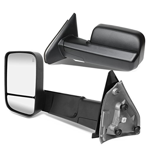 (DNA MOTORING TWM-040-T111-BK Pair PoweredHeated Towing Mirrors (02-09 Dodge RAM))